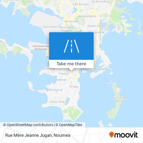 Rue Mère Jeanne Jugan map