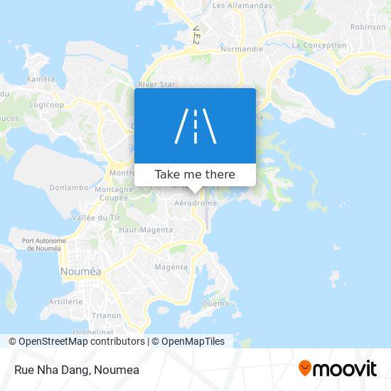 Rue Nha Dang map