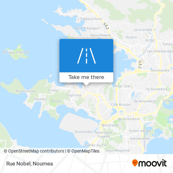 Rue Nobel map