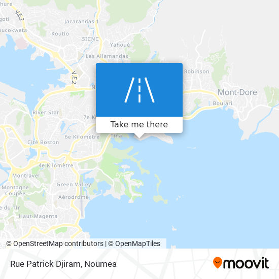 Rue Patrick Djiram map