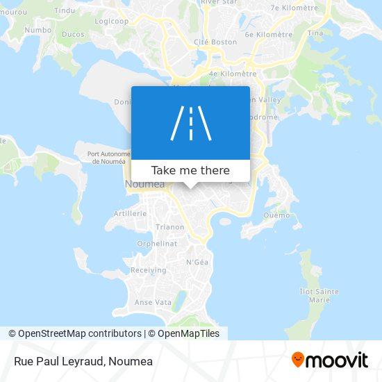 Rue Paul Leyraud map