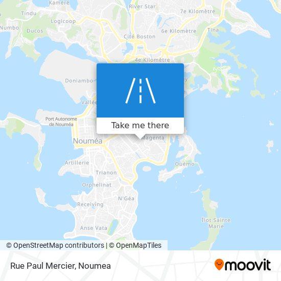 Rue Paul Mercier map