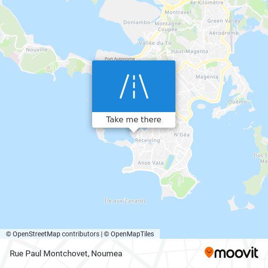 Rue Paul Montchovet map