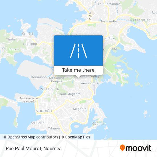 Rue Paul Mourot map