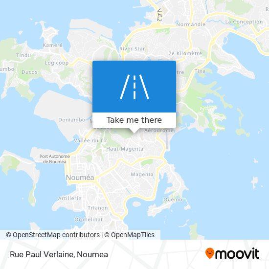 Rue Paul Verlaine map