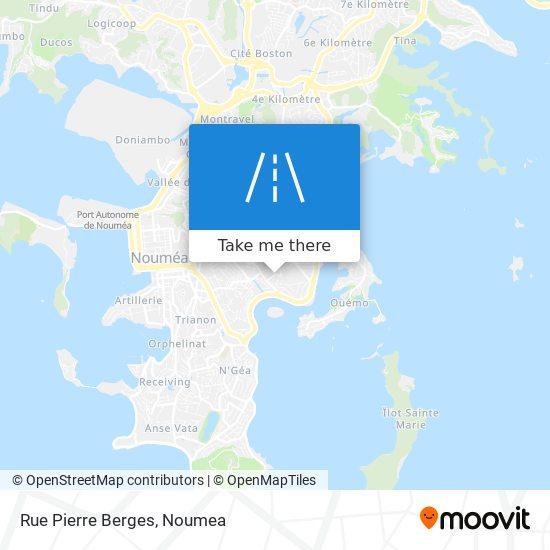 Rue Pierre Berges map