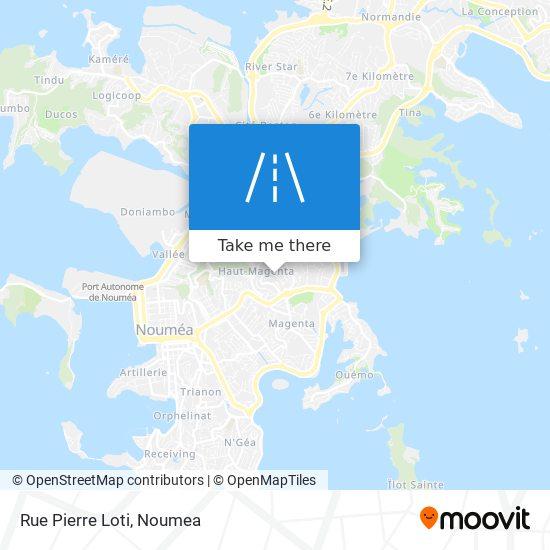 Rue Pierre Loti map