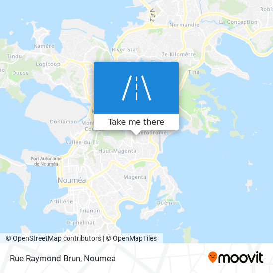 Rue Raymond Brun map