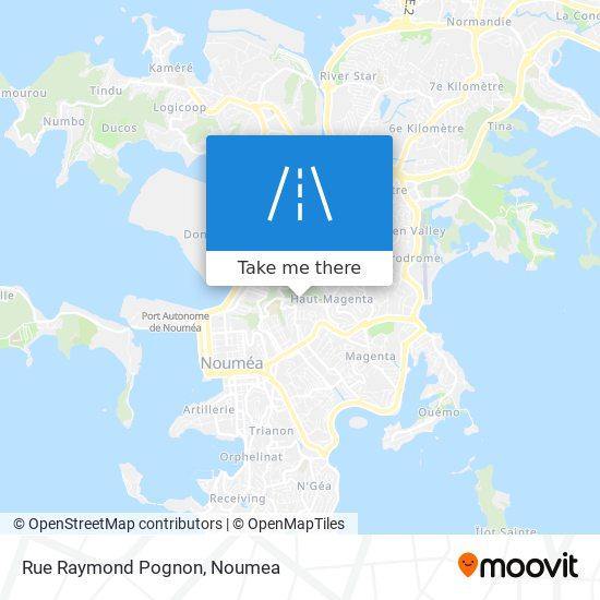 Rue Raymond Pognon map