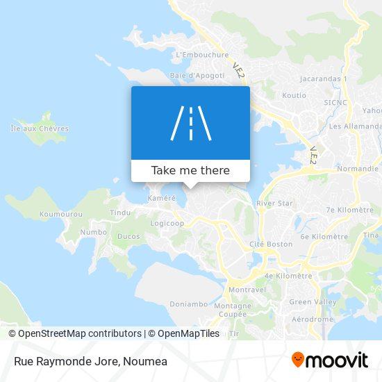 Rue Raymonde Jore map