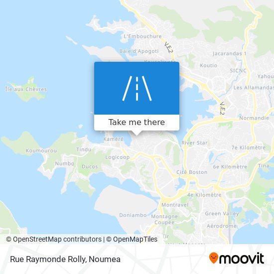 Rue Raymonde Rolly map