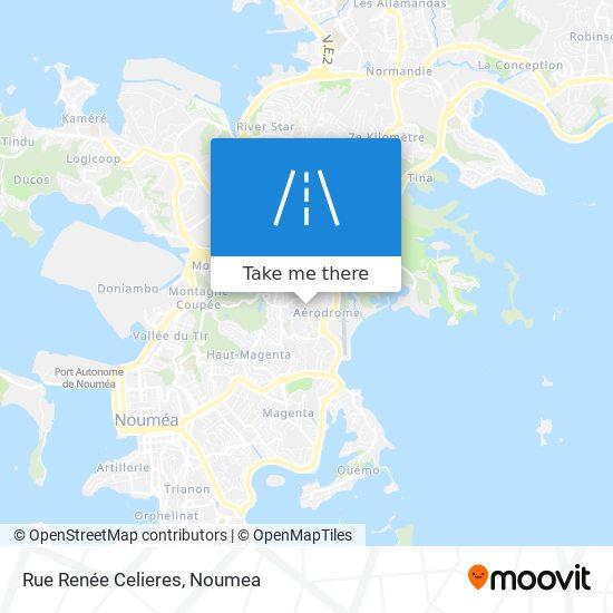 Rue Renée Celieres map