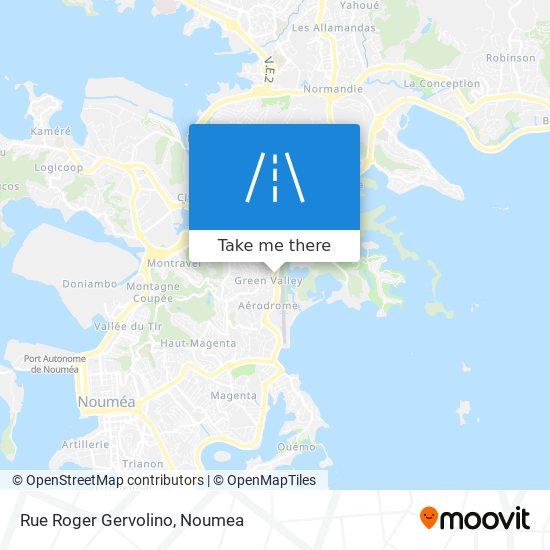 Rue Roger Gervolino map