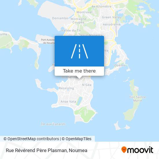 Rue Révérend Père Plasman map