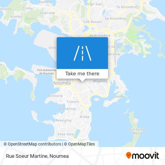 Rue Soeur Martine map