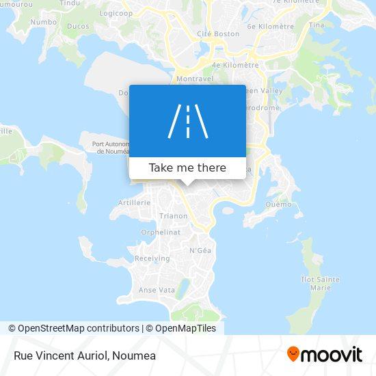 Rue Vincent Auriol map