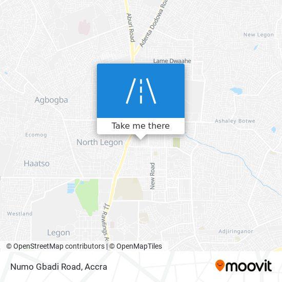 Numo Gbadi Road map