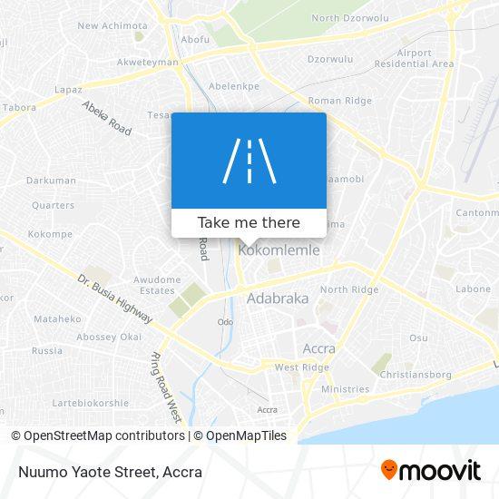 Nuumo Yaote Street map