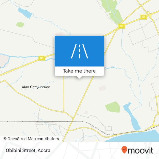 Obibini Street map