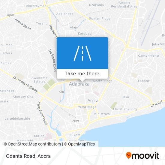 Odanta Road map