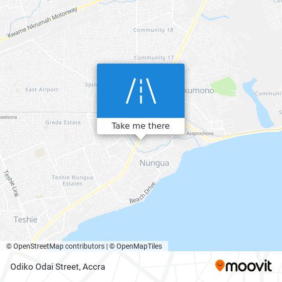 Odiko Odai Street map