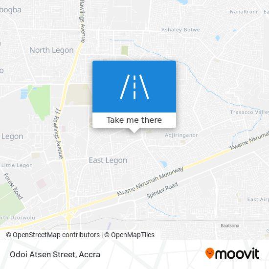 Odoi Atsen Street map