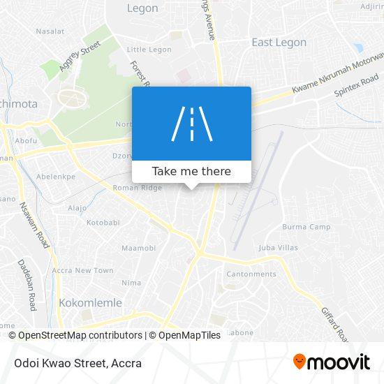 Odoi Kwao Street map