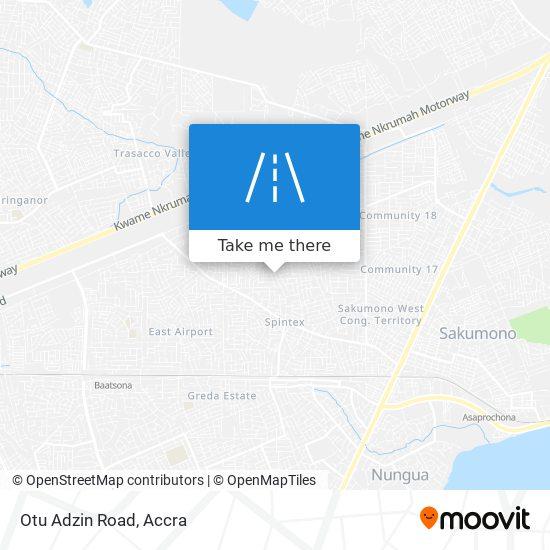 Otu Adzin Road map