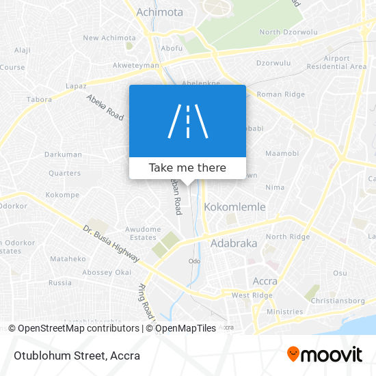Otublohum Street map
