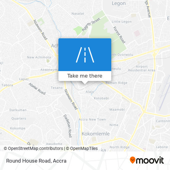 Round House Road map