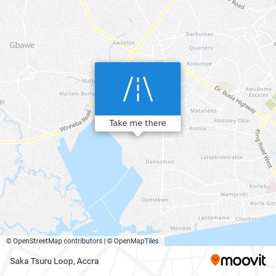 Saka Tsuru Loop map