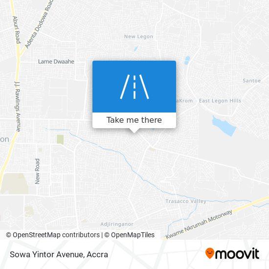 Sowa Yintor Avenue map