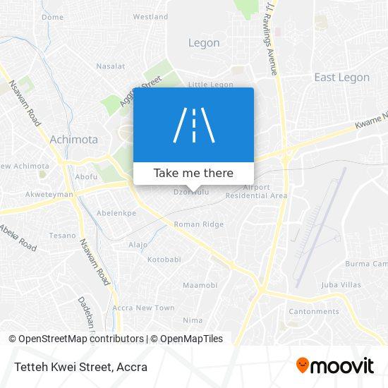 Tetteh Kwei Street map