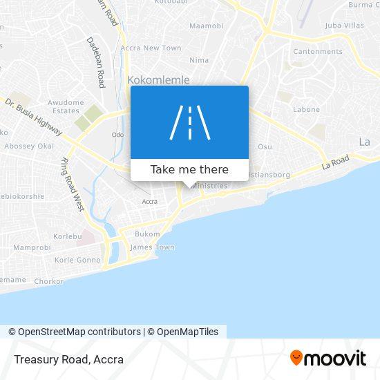 Treasury Road map