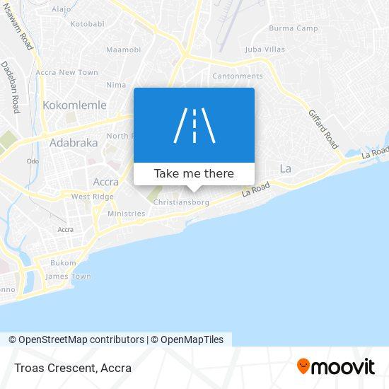 Troas Crescent map