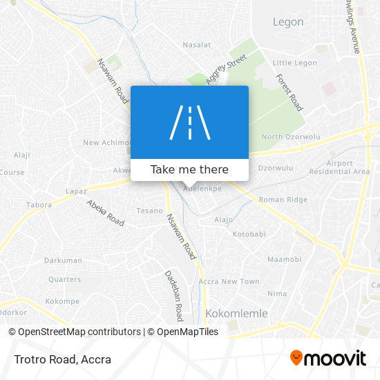 Trotro Road map