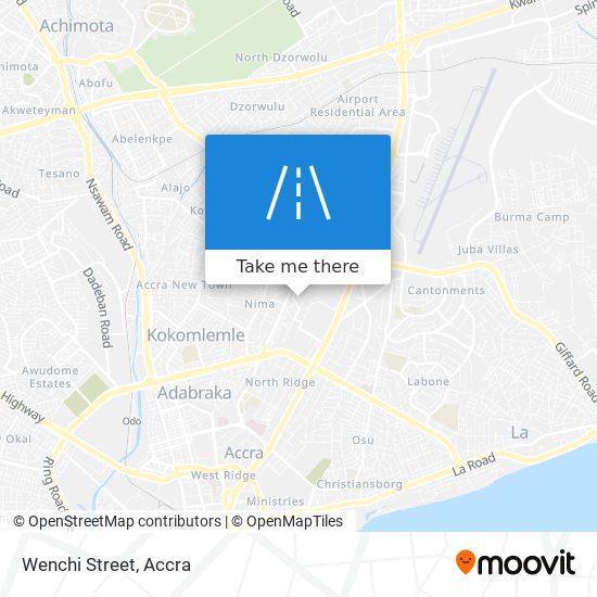 Wenchi Street map
