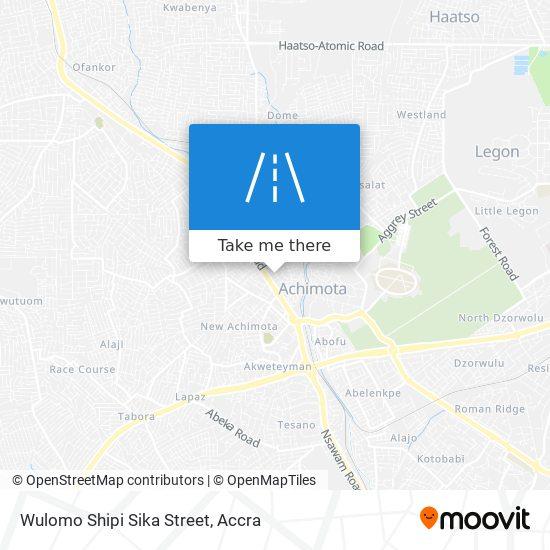 Wulomo Shipi Sika Street map