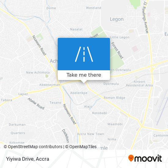 Yiyiwa Drive map