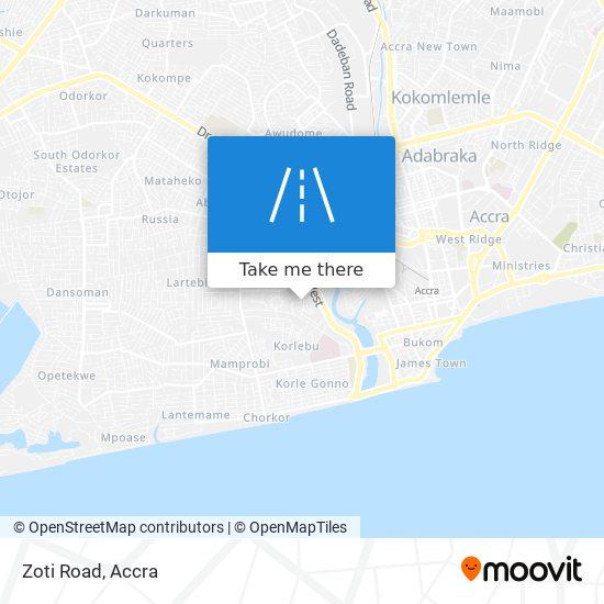 Zoti Road map