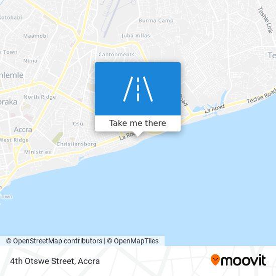 4th Otswe Street map