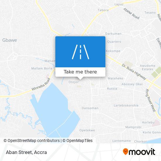 Aban Street map