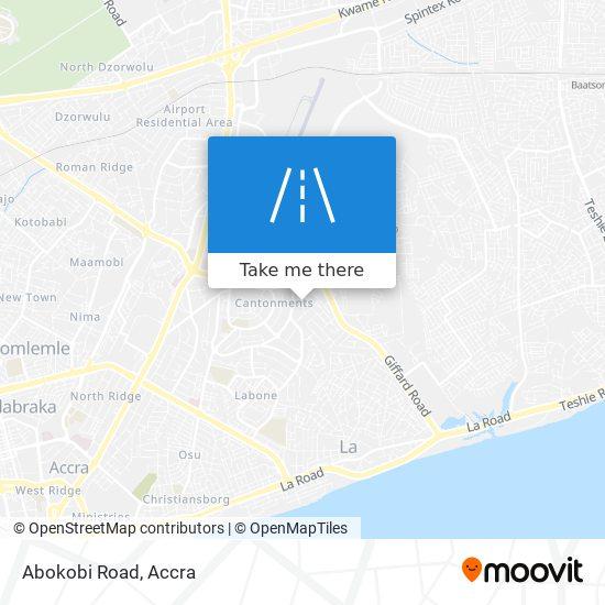 Abokobi Road map