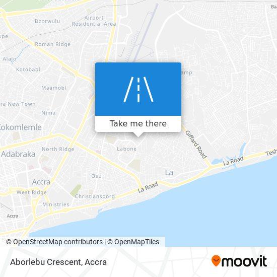 Aborlebu Crescent map