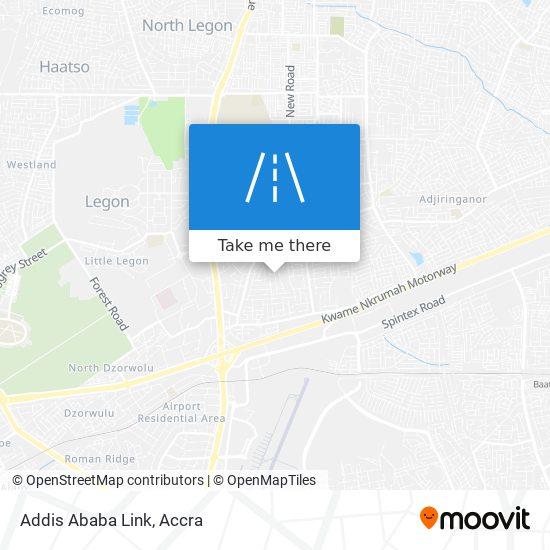 Addis Ababa Link map