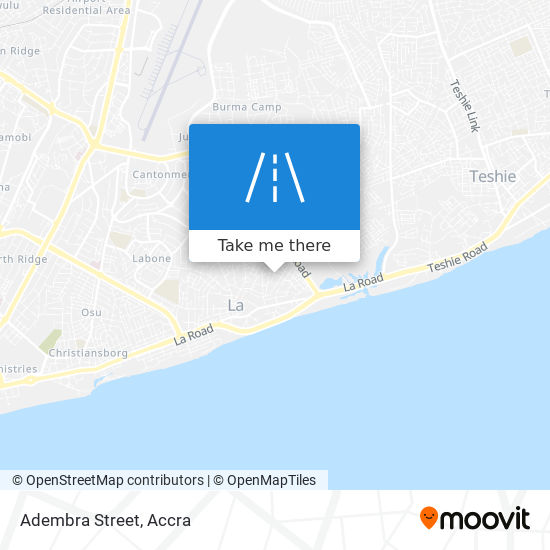 Adembra Street map