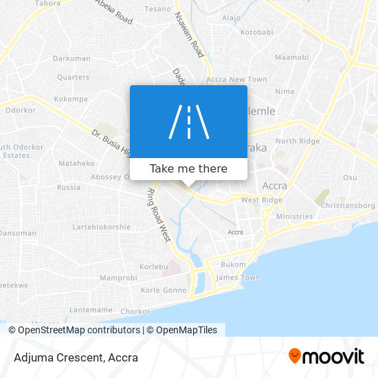 Adjuma Crescent map