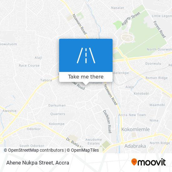 Ahene Nukpa Street map