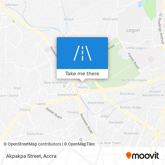 Akpakpa Street map