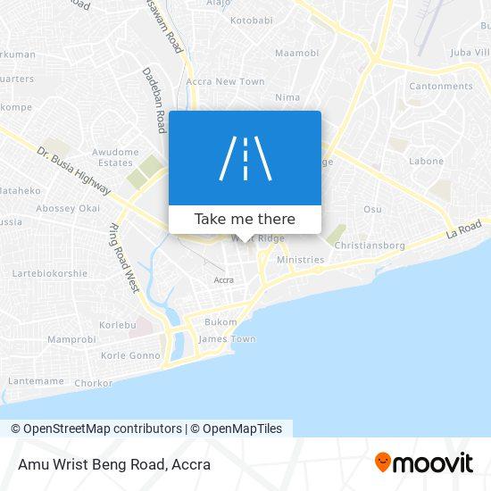Amu Wrist Beng Road map